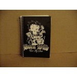 Betty Boop Spiral Notebook Biker Design With Matching Pen