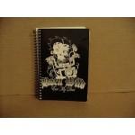 Betty Boop Spiral Notebook Biker Design With Matching Pen