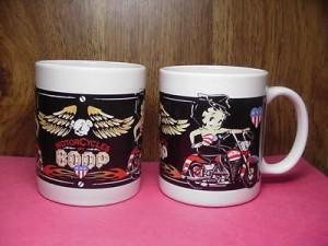 Betty Boop Mug Motorcycle Boop # 6