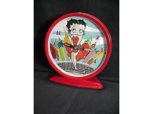 Betty Boop Desk Twin Bell Alarm Clock Cool Breeze Design