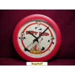 "Betty Boop Wall Clock 8"" Round Filmstrip Design"