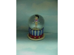 Betty Boop Water Ball Top Hat Design Mini W6803 (retired)