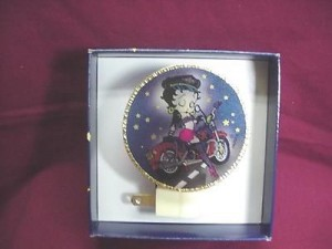 Betty Boop Night Light Biker Design 2 (retired)