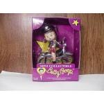 Betty Boop Mini Figurine Sitting On Motorcycle
