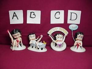 Betty Boop Figurine #D Boop-oop-a-doop Design (retired)
