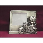 Betty Boop Picture Frame Pewterite Biker Design