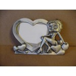 Betty Boop Picture Frame Pewterite Heart Design