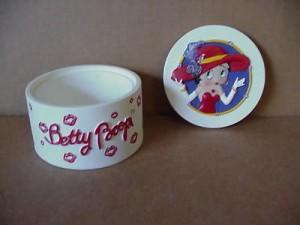 Betty Boop Trinket Box Round Design (retired)