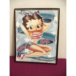 Betty Boop Picture 8x10 All American Design