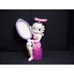 Betty Boop Picture Frame Holding A Mirror Design