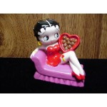 Betty Boop Ornament Sitting On Couch Design