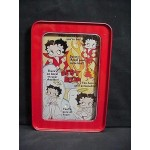 Betty Boop Tin Ball Game Angel Devil Design