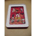 Betty Boop Tin Ball Game Film Strip Design