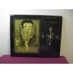 Betty Boop Plaque Wall Clock Cool Breeze Design