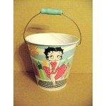 Betty Boop Pail With Handle - Cool Breeze Design (retired)