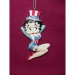 Betty Boop Ornament Usa Top Hat (retired)