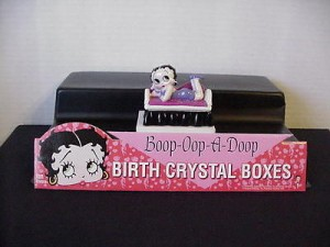 Betty Boop Birthstone Box 09 September (retired)