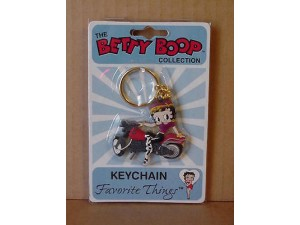 Betty Boop Key Chains Lot #44 Biker With White Stockings Design. Two Pieces.