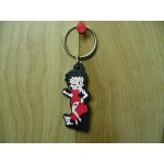 Betty Boop Key Chains  Lot #41 Classic  Zipper Pulls Design Two Pieces.