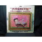 Betty Boop Magnetic Puzzle 36 Pieces Bathtub Design (retired Item)