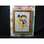 Betty Boop Magnetic Puzzle 36 Pieces Sitting On Moon Design (retired Item)