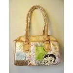 Betty Boop Pocketbook / Purse #43 Medium Face Design Multi Fabric