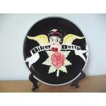 Betty Boop Collector Plate Biker Design