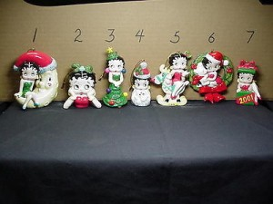 Betty Boop Ornament Moon Design # 1 (retired Item)