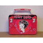 Betty Boop Mini Lunch Box Biker Design