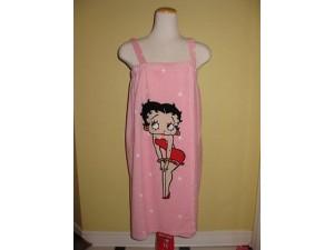 Betty Boop Bath Wrap Pink