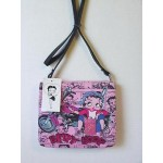 Betty Boop Pocketbook / Purse #21 Biker Gas Can Design Pink