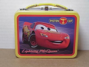 Cars Mini Lunch Box Piston Cup Design #07
