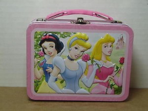 Princess Mini Lunch Box Three Princesses Design #05
