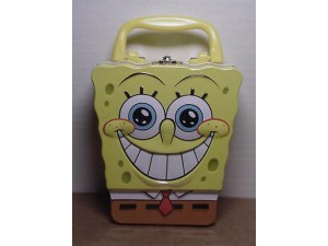 Spongebob Squarepants Mini Lunch Box Face Design #08