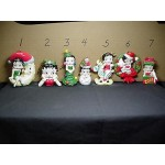 Betty Boop Ornament Wreath Design # 6 (earthenware)