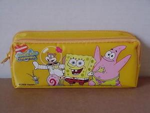 Spongebob Squarepants Pencil Case Yellow #04