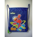 Elmo Book Bag / Cinch Sack Blue #36