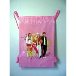 High School Musical - Book Bag / Cinch Sack Pink #25