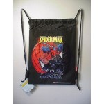 Spiderman Good Vs Evil Book Bag / Cinch Sack Black #40