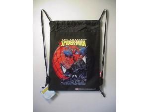 Spiderman Good Vs Evil Book Bag / Cinch Sack Black #40