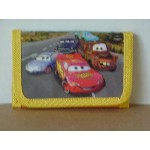 Cars Mini Tri Fold Wallet Yellow #21