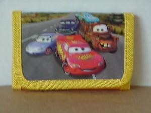 Cars Mini Tri Fold Wallet Yellow #21