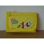 Spongebob Squarepants Mini Tri Fold Wallet Yellow #36