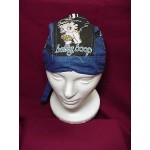 Betty Boop Do Rag Skullcap Biker Design Blue