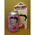 Betty Boop Can Hugger Kisses Design