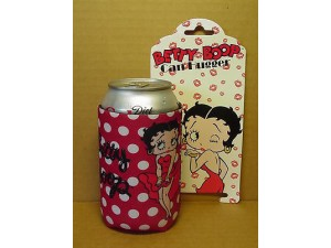 Betty Boop Can Hugger Polka Dot Design