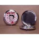 Betty Boop Compact Mirror Kisses Design