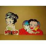 Betty Boop Post Cards Two Piece Set #05 Die Cut (retired)