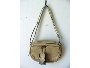 Pocketbook / Purse #19 Shoulder Bag Beige 3013