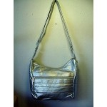 Pocketbook / Purse #30 Hobo Bag Silver